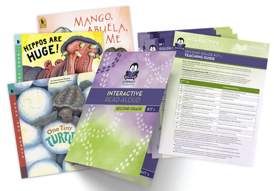 Interactive Read-Aloud Second Grade Kit 1
