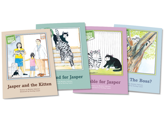Jasper the Cat Chapter Books