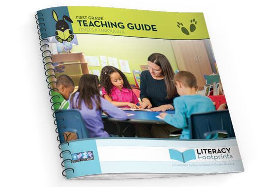 Literacy Footprints Teaching Guide for First Grade