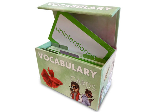 Literacy Footprints Vocabulary Box Set for Fourth Grade