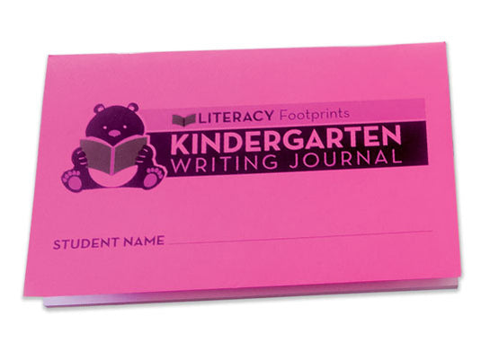 Literacy Footprints Kindergarten Journal