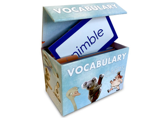 Literacy Footprints Vocabulary Box Set for Third Grade