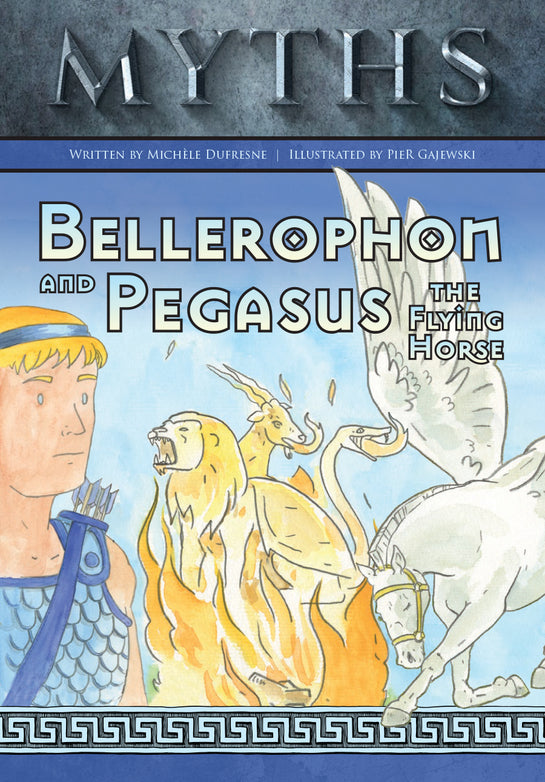 Bellerophon and Pegasus the Flying Horse