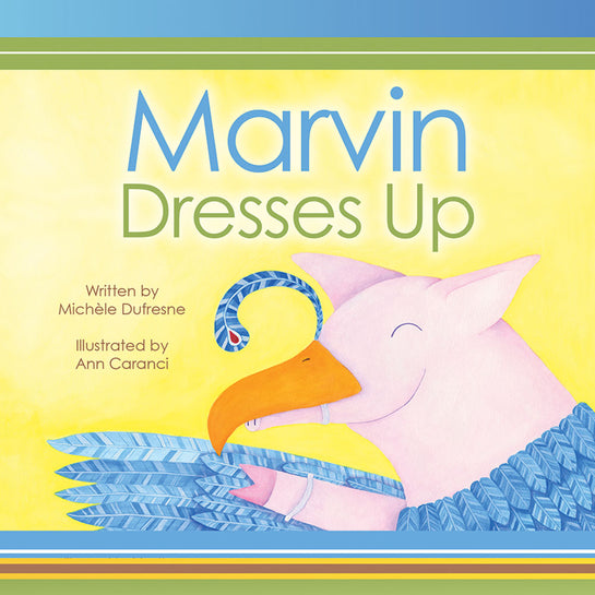 Lap Book: Marvin Dresses Up