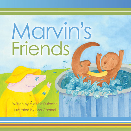 Lap Book: Marvin's Friends