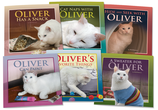 Oliver the Cat Set 2 Lap Books