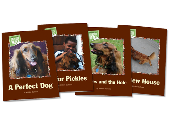 Pickles the Dog Chapter Books