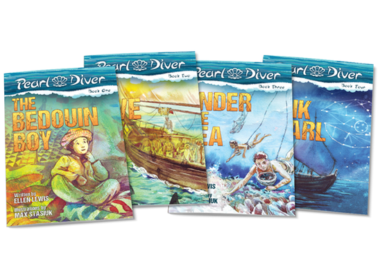 Pearl Diver Chapter Books