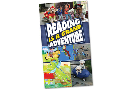 Reading Is a Grand Adventure Poster