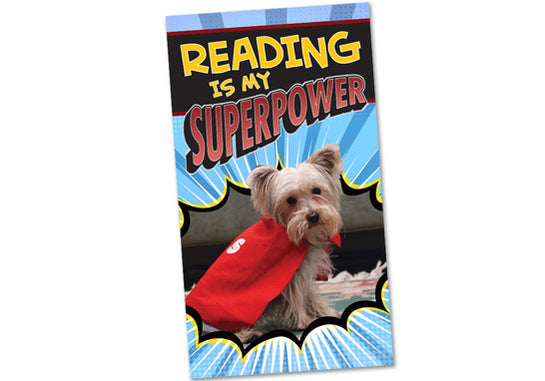 Reading Is My Superpower Poster