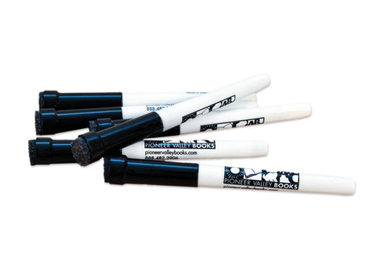 Dry Erase Markers with Eraser - Set of 6