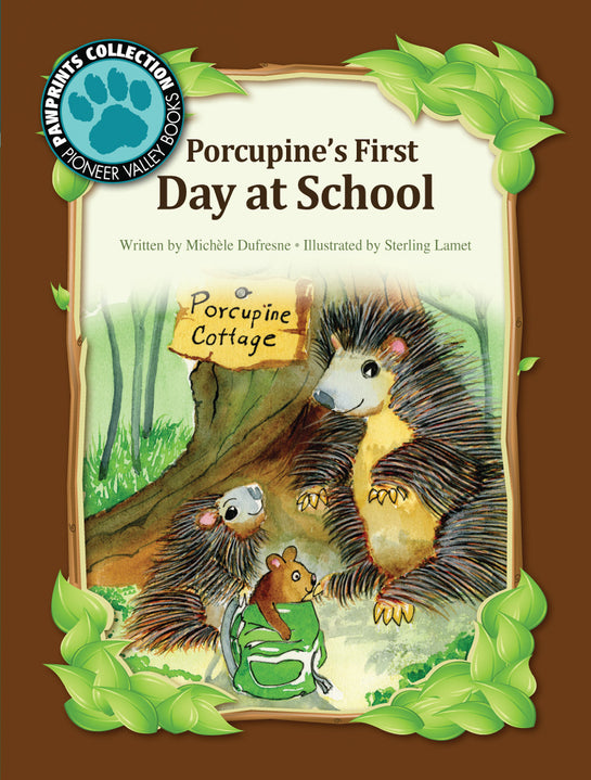 Porcupine's First Day at School
