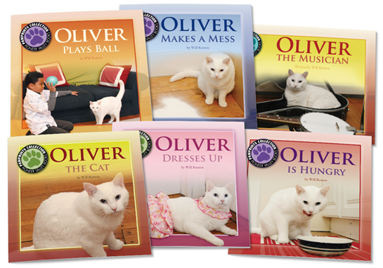 Oliver the Cat Set 1