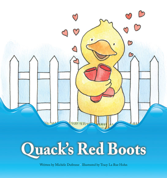 Quack's Red Boots