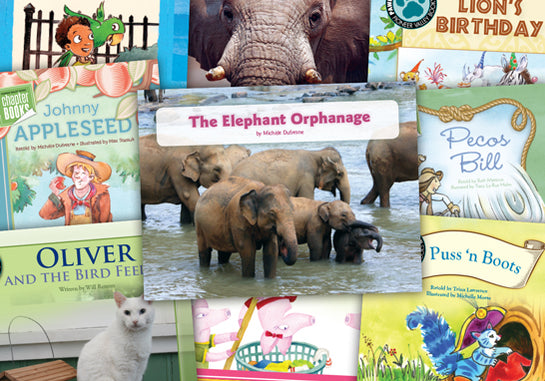 Read-at-Home Books, Standard Classroom Set M
