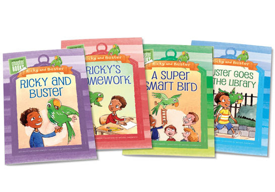 Ricky and Buster Chapter Books
