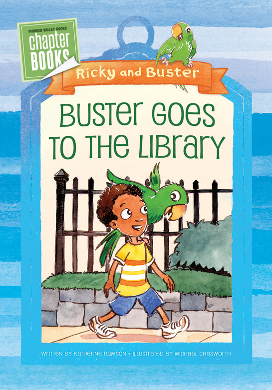 Buster Goes to the Library