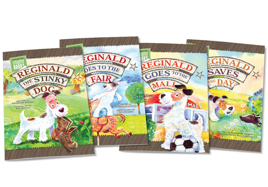 Reginald the Stinky Dog Chapter Books