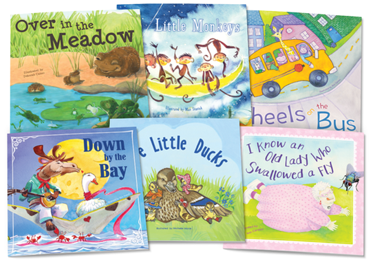 Rhymes and Songs Set 1 - Lap Books