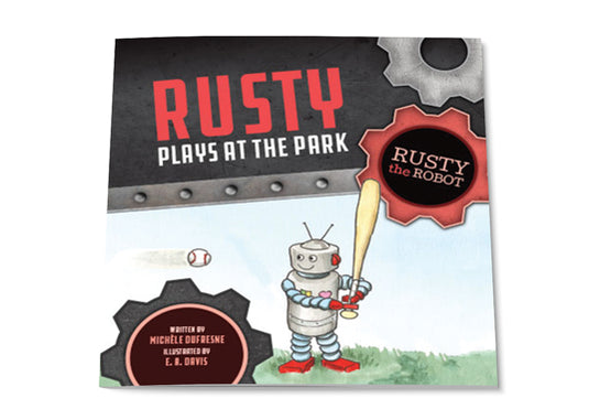 Rusty Plays at the Park