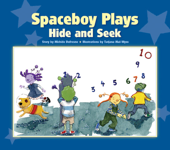Spaceboy Plays Hide and Seek
