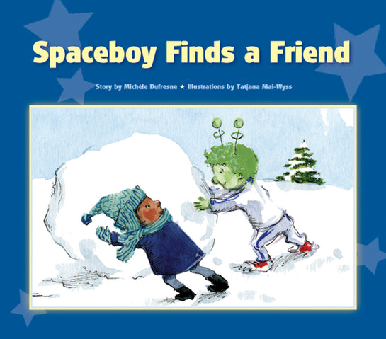Spaceboy Finds a Friend
