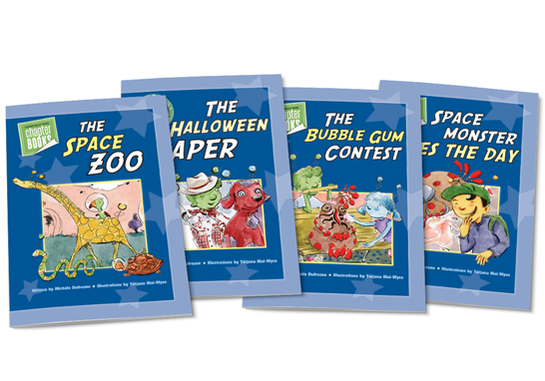 Spaceboy Chapter Books