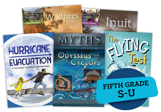 Single Book Bundle for Fifth/Sixth Grade, Set 1, Levels S-U
