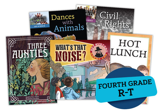 Single Book Bundle for Fourth Grade, Set 2, Levels R-T