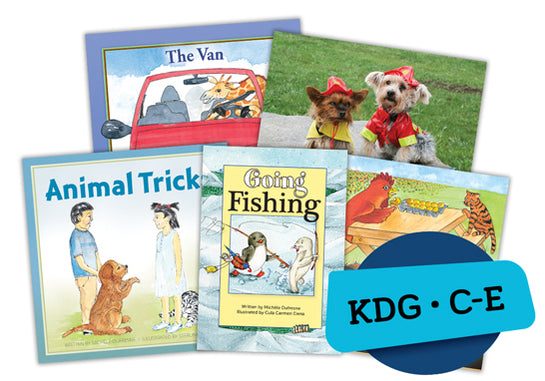 Single Book Bundle for Kindergarten, Set 2, Levels C-E
