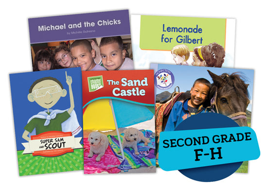 Single Book Bundle for Second Grade, Set 1, Levels F-H