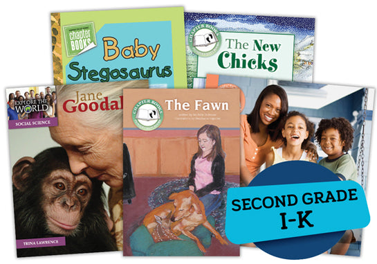 Single Book Bundle for Second Grade, Set 2, Levels I-K