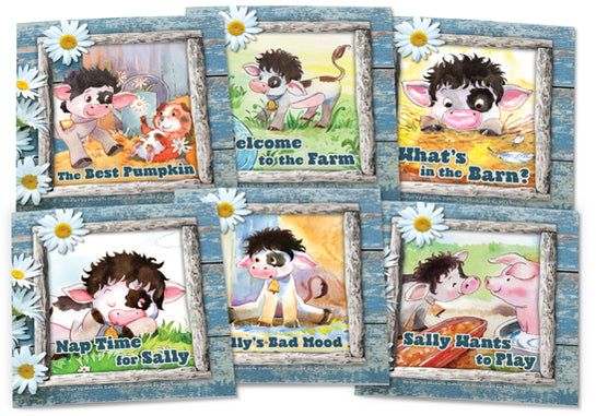 Sally the Cow Set 1