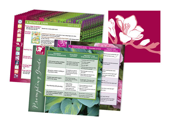 Garden Collection Lesson Cards Level F