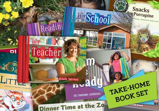 Read-at-Home Books, Take-Home Set A