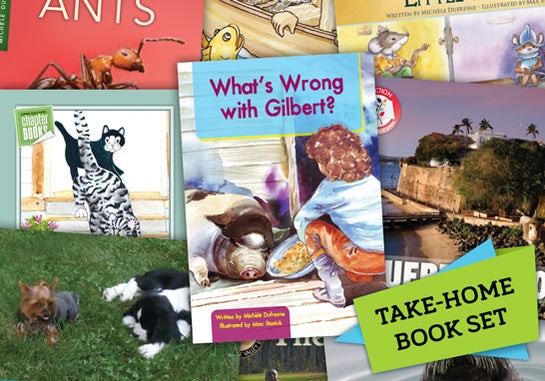 Read-at-Home Books, Take-Home Set J