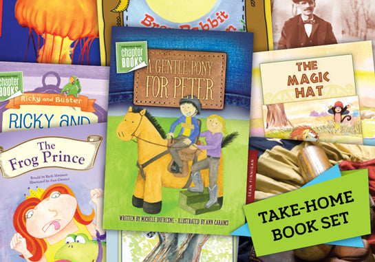 Read-at-Home Books, Take-Home Set K