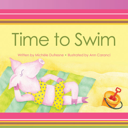 Mighty Treasures Lap Book: Time to Swim