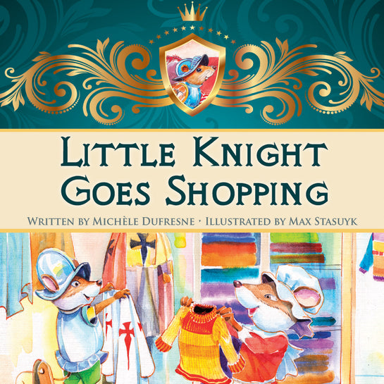 Little Knight Goes Shopping
