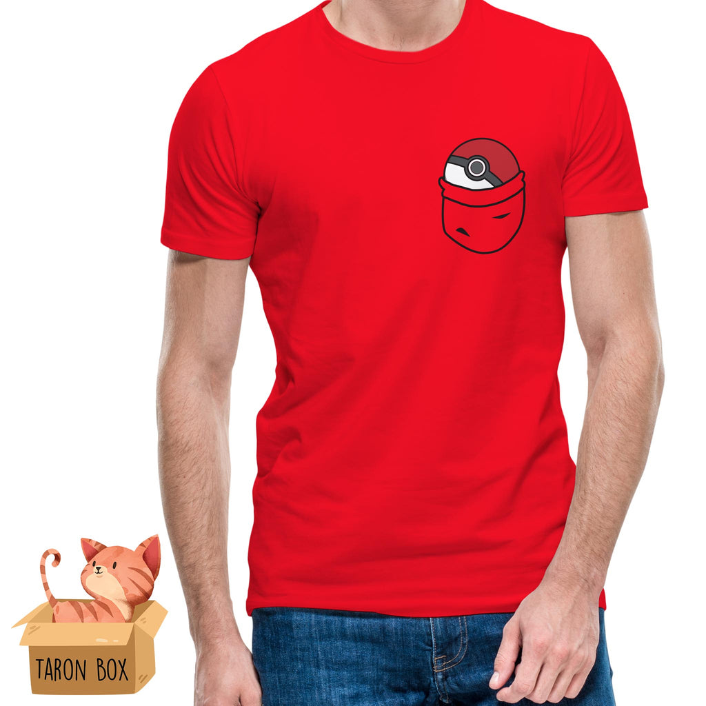 Camiseta unisex Pokeball de bolsillo