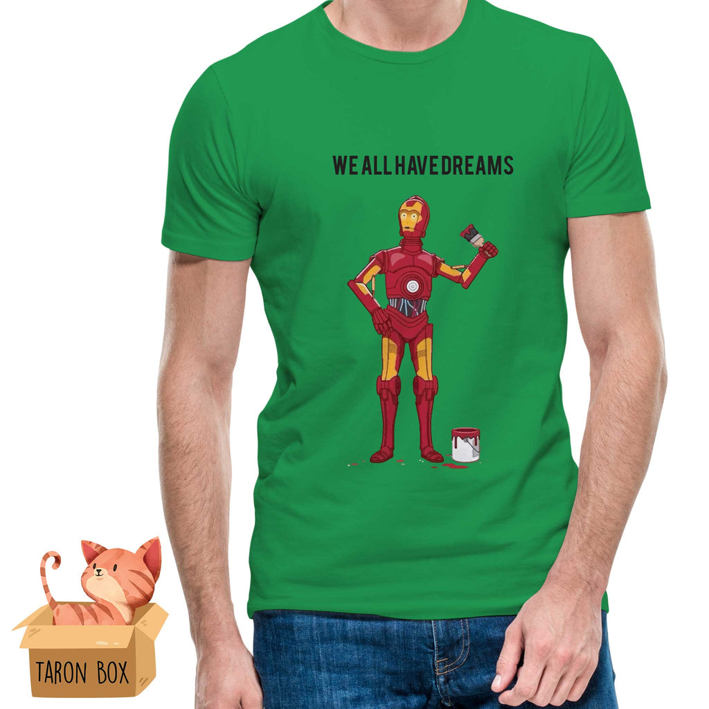 Camiseta unisex C3PO We All Have Dreams