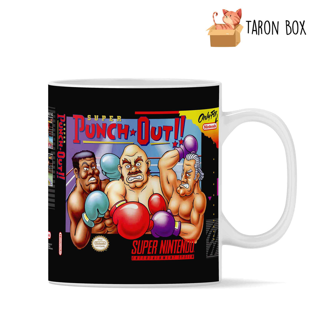 Taza SNES Super Punch Out