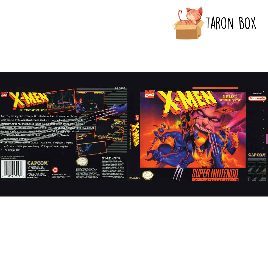 Taza SNES X-Men Mutant Apocalypse