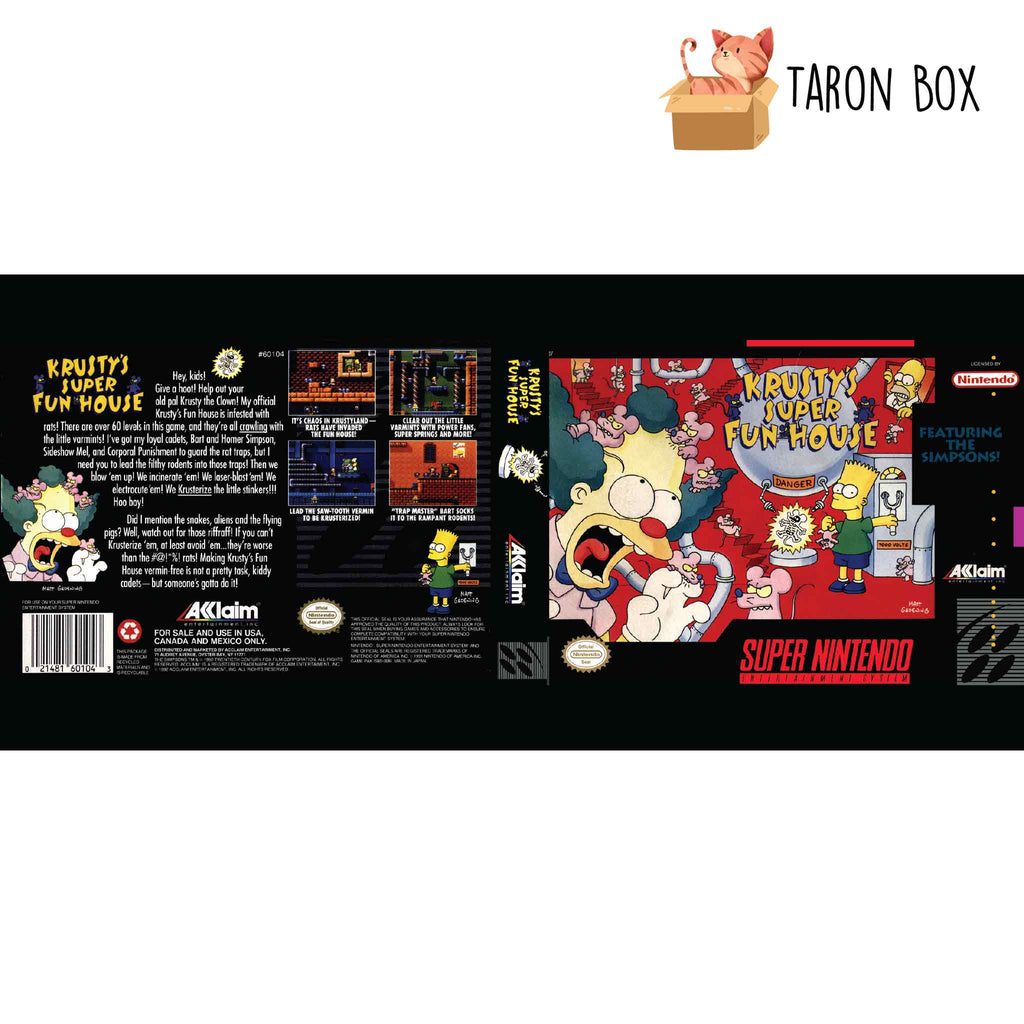 Taza SNES Krusty's super fun house