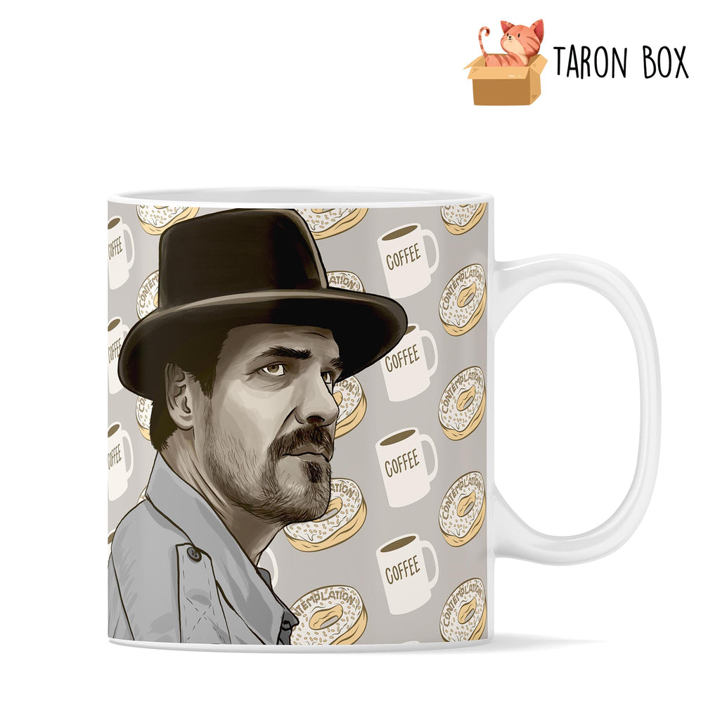 Taza Jim Hooper Stranger Things - taron-box