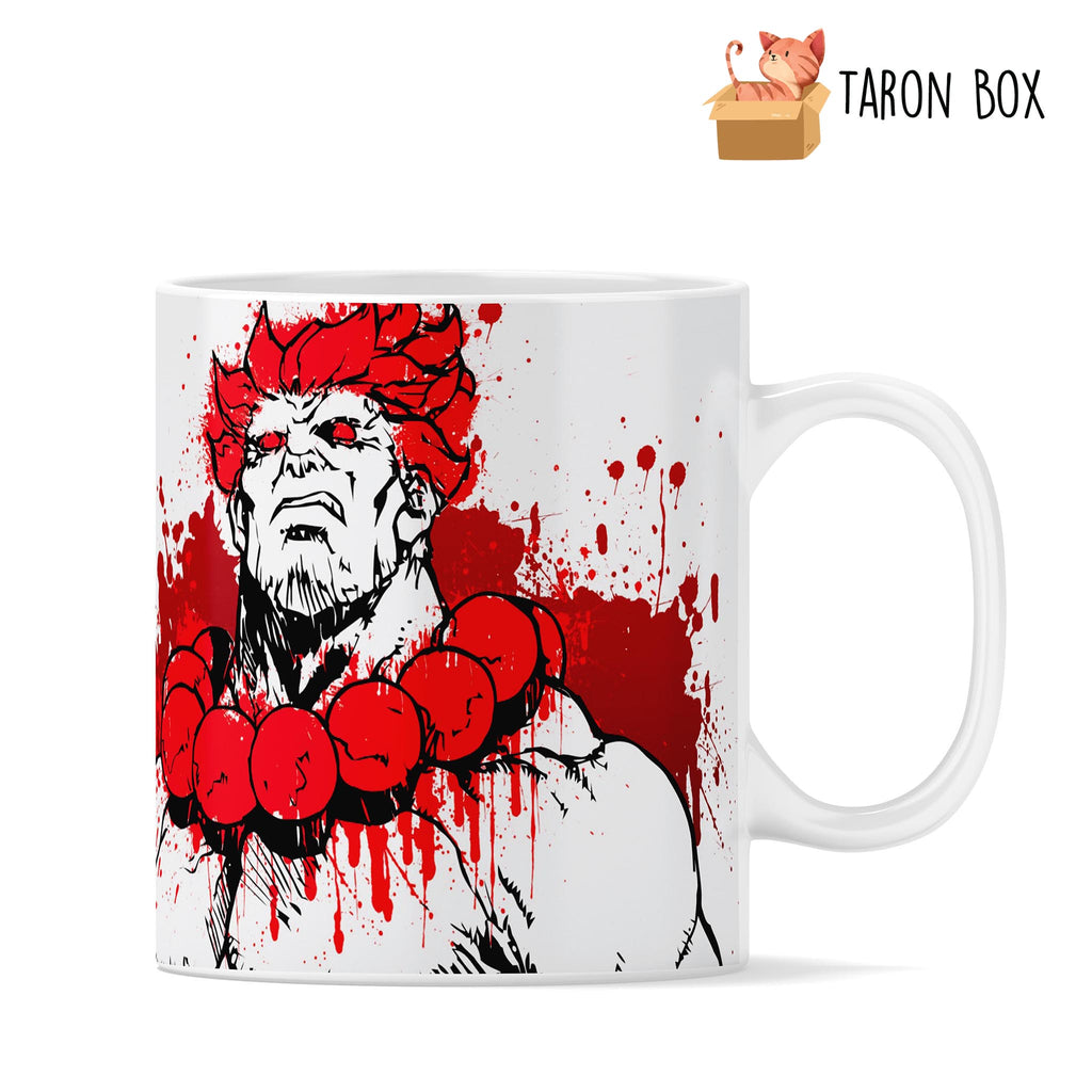 Taza Akuma Street Fighter - taron-box