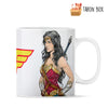 Taza Wonder Woman y logo - taron-box
