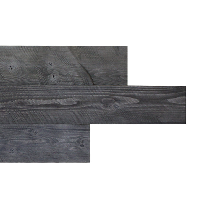 12pc Wooden Wall Panel/Self Adhesive Barn Wood Art/ Rustic Wall Planks/Reclaimed Wood Wall Paneling/Simple Peel and Stick Wood Plank