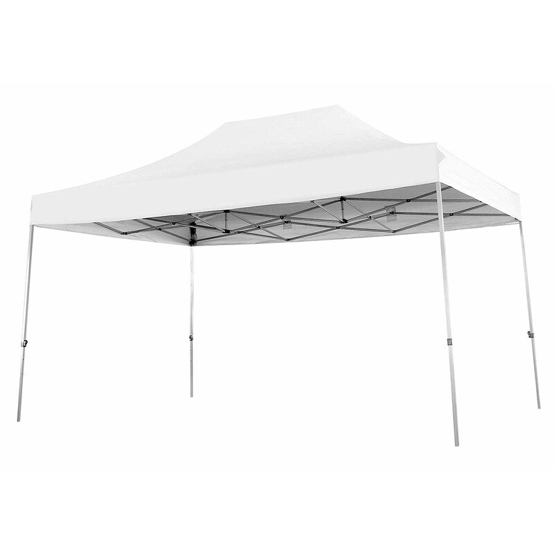 Steel Pop-up Canopy for Backyard, Beach, Camping, Party (15 Ft. W x 10 Ft.D)