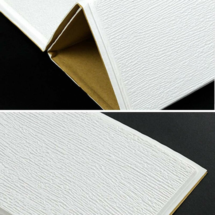 "28"" x 28"" Peel and Stick Foam Wall Paneling, 3D Brick Wall Panel for Home Decoration"